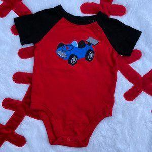 Garanimals Baby Boy 6-12 Month Onesie Bodysuit Red